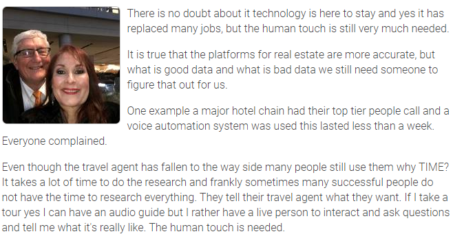 Agent Insights - Technology is Great but it Does Not Replace Human Touch
