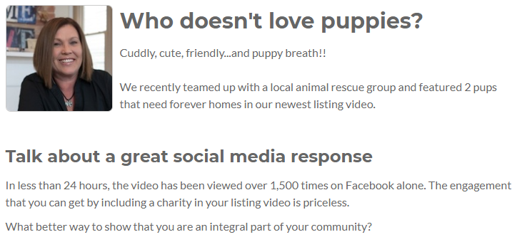 Agent Insights - Use Your Listing Videos to Help Animal Rescue