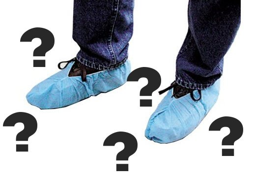 Disposable Shoe Cover Question Marks.jpg