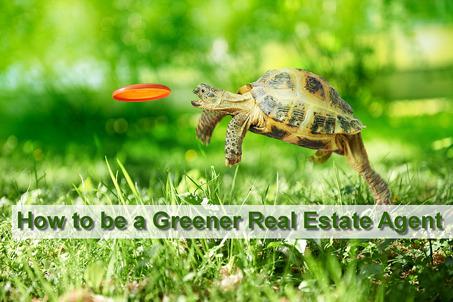 How to be a Greener Real Estate Agent