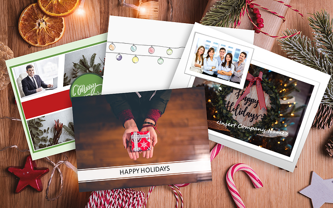 Real Estate Holiday Cards Email Thumbnail