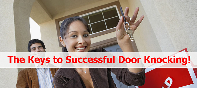 What Should Real Estate Agents Bring When Door Knocking