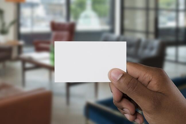 Whats on YOUR Business Card