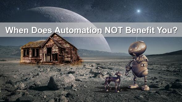 When Should You NOT Use Automation in Real Estate